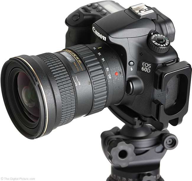 Tokina 14-20mm f/2 AT-X Pro DX Lens Angle View