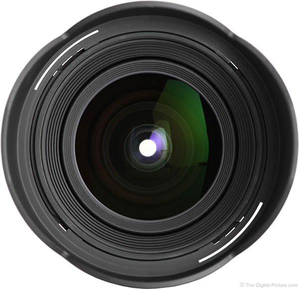 Tokina 14-20mm f/2 AT-X Pro DX Lens Center View