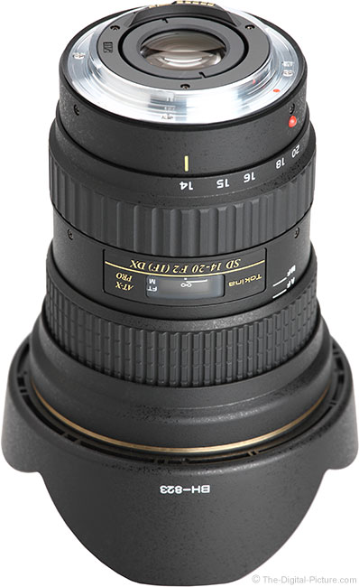 Tokina 14-20mm f/2 AT-X Pro DX Lens Mount