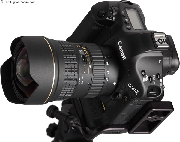 Tokina 16-28mm f/2.8 AT-X Pro FX Lens on Canon EOS-1Ds Mark III