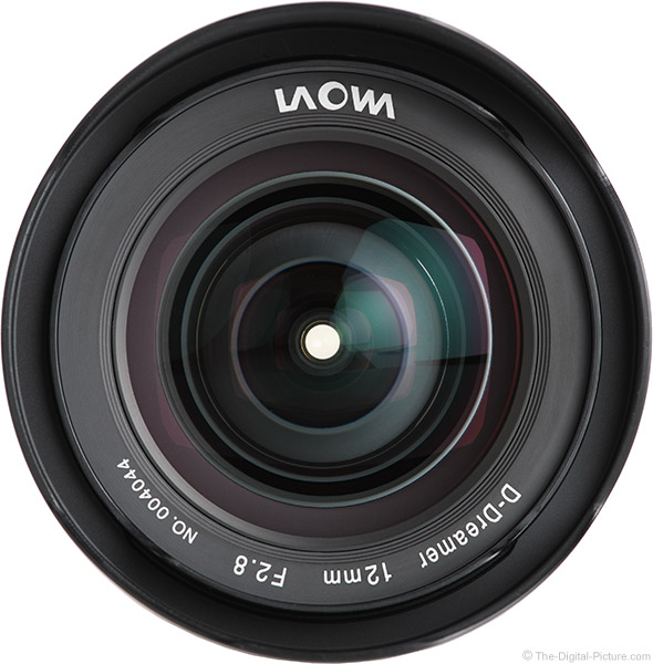 Venus Optics Laowa 12mm f/2.8 Zero-D Lens Front View