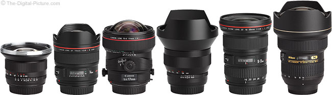 Ultra-Wide Angle Lenses