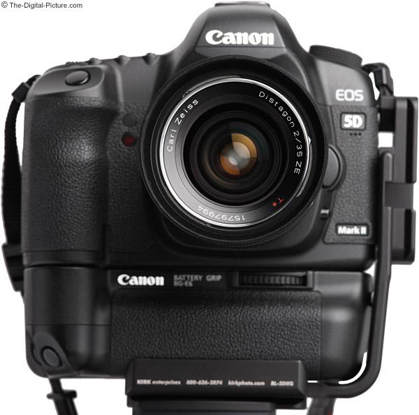 Zeiss 35mm f/2.0 Distagon T* ZE Lens Front View