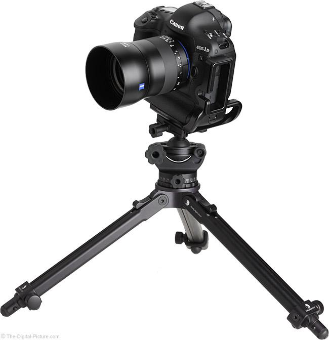 Zeiss Milvus 50mm f/1.4 Lens on Tripod
