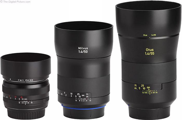 Zeiss Milvus 50mm f/1.4 Lens with Predecessor