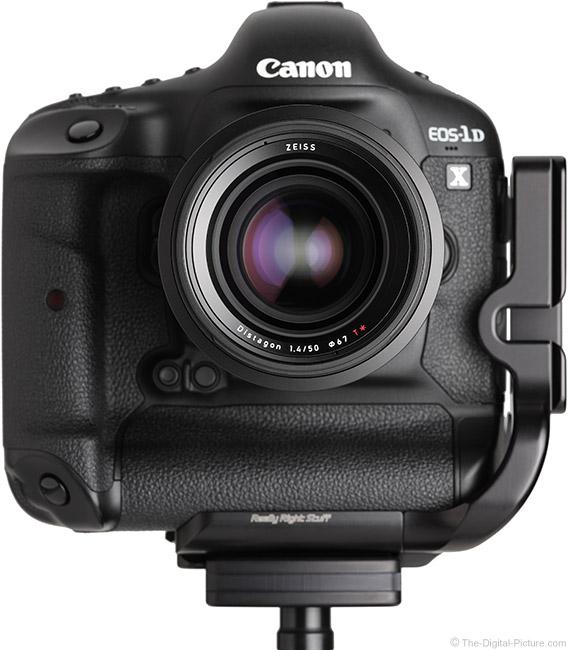 Zeiss Milvus 50mm f/1.4 Lens Front View