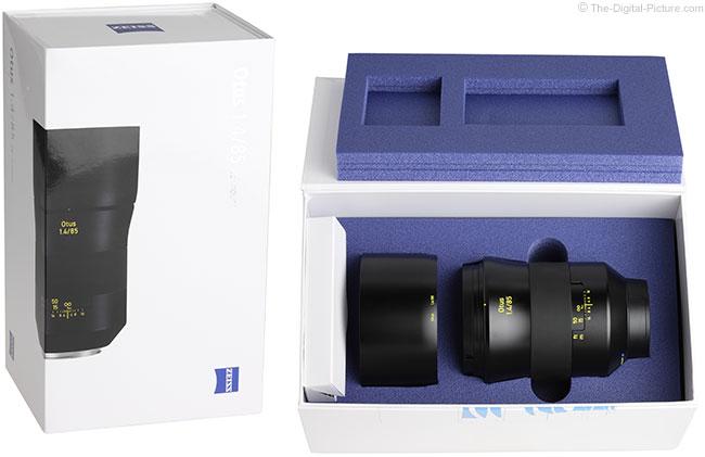 Zeiss Otus 85mm f/1.4 Lens Case/Box
