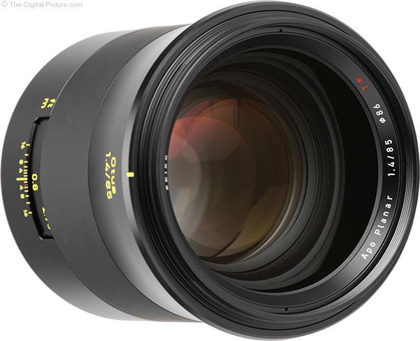 Zeiss Otus 85mm f/1.4 Lens Front