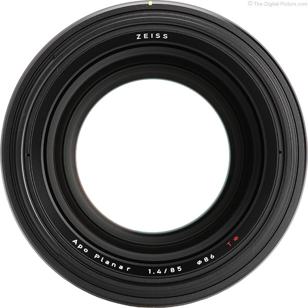 Zeiss Otus 85mm f/1.4 Lens Opening