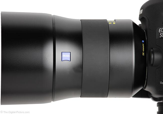 Zeiss Otus 85mm f/1.4 Lens Side