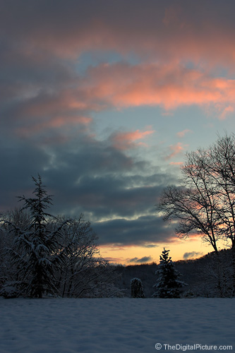 Winter Sunrise Picture