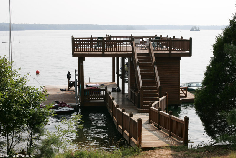 Smith Mountain Lake Boat House Picture