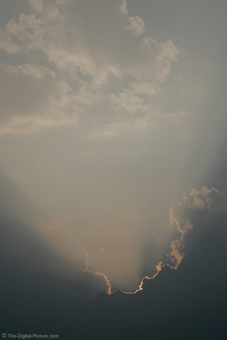 Sun Behind Clouds Picture