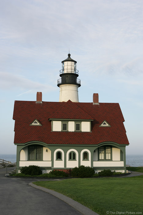 Portland Lighthouse - Front View Picture