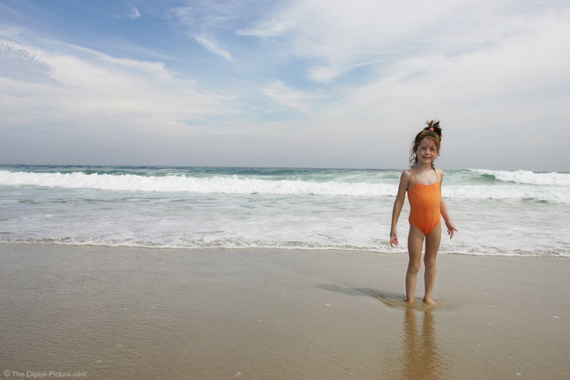 Young Girl at the Beach Picture