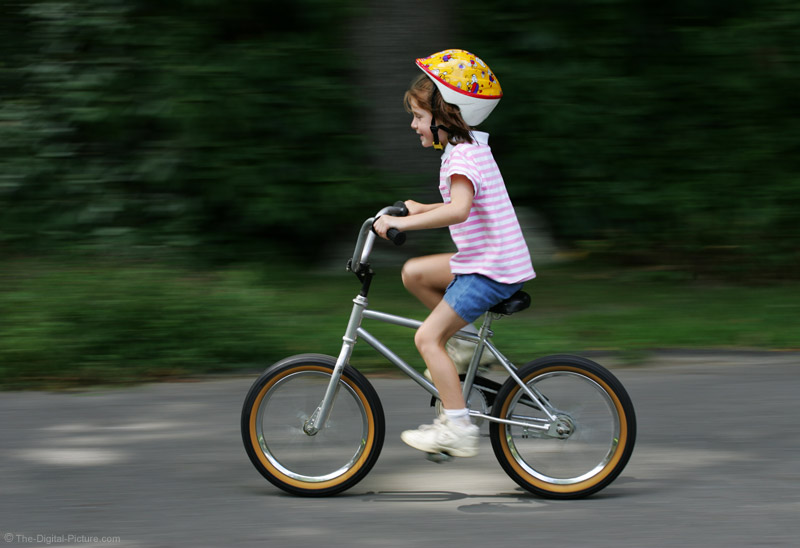 Peddling Bicycle Picture