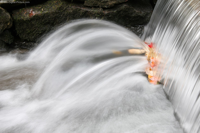 Motion-Blurred Waterfall Picture
