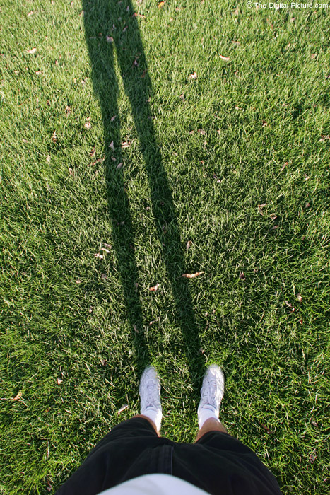 Feet and Shadow Picture