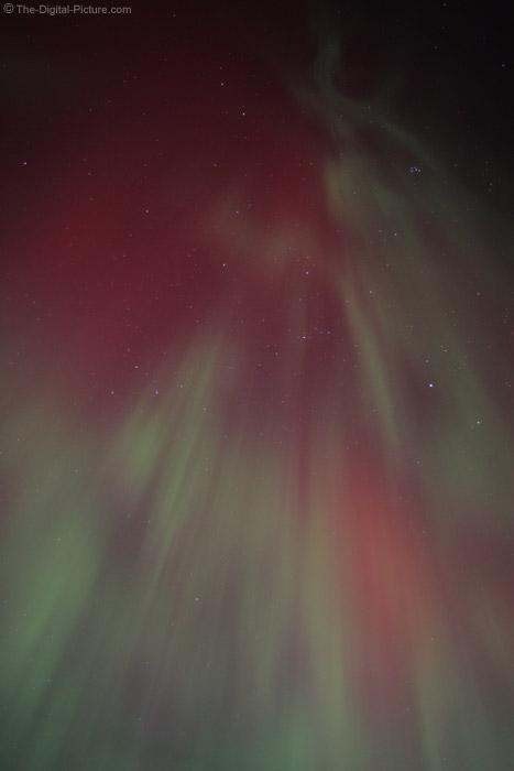 Descending Northern Lights Picture