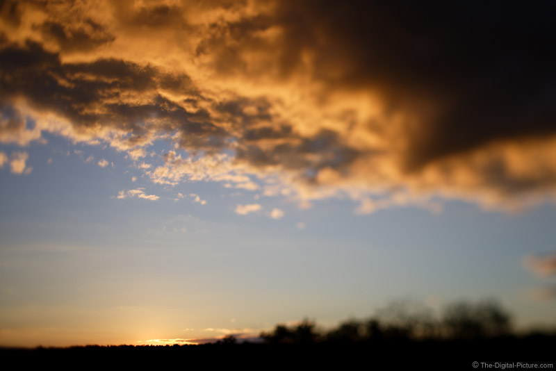 Dramatic Sky At Sunset Picture