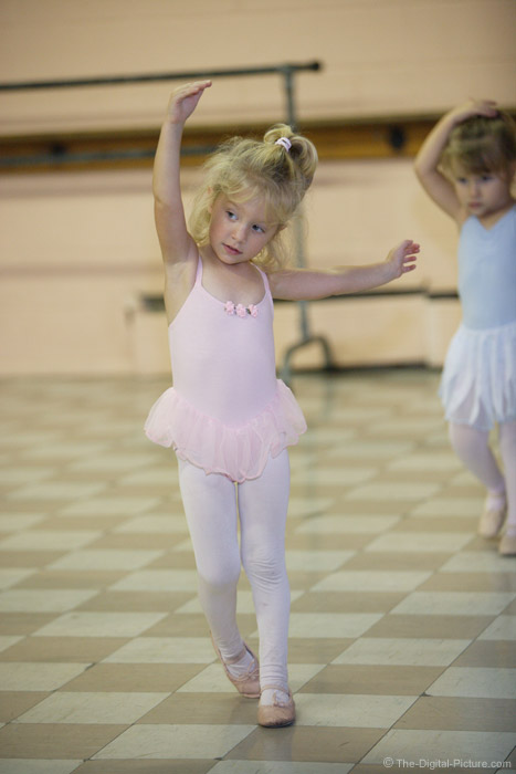 Tiny Ballet Dancer Picture