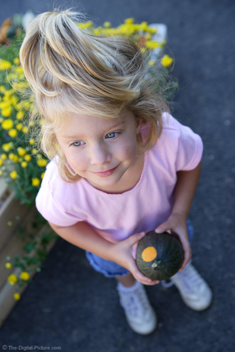 Little Girl with a Gourd Picture