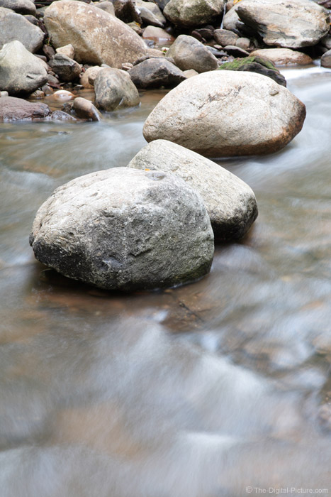 Rocks in the Stream Picture