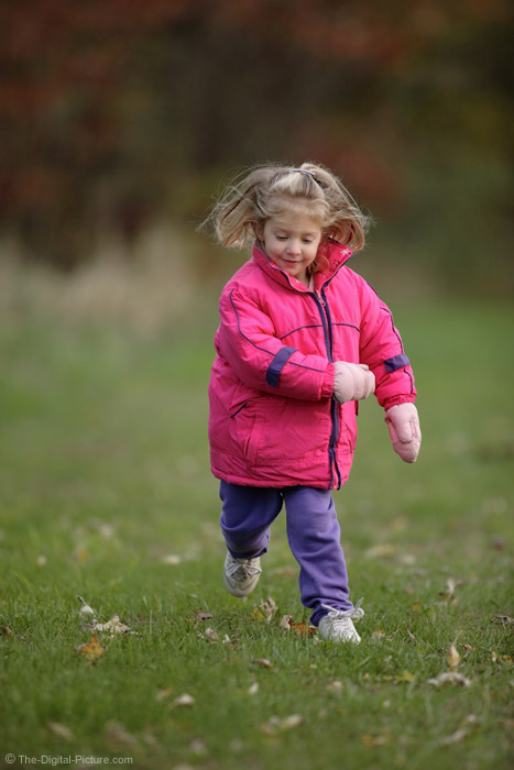 Little Girl Running 3