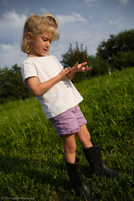 Little Girl in Boots