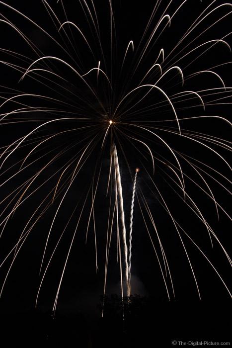 Huge Fireworks Explosion Picture