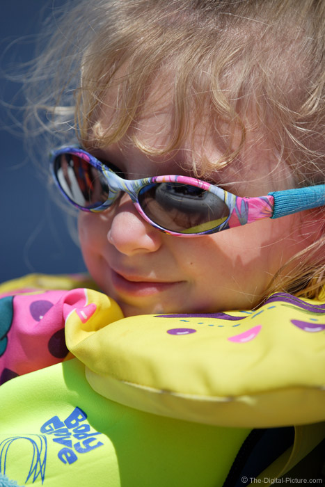 Young One in Life Jacket Picture