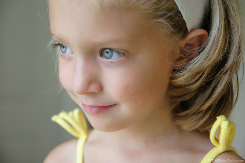 Little Girl Gazing Out Window Picture