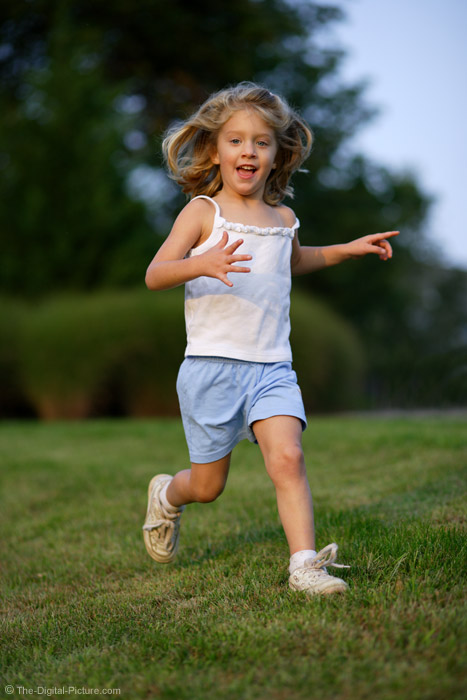 Little Girl Running 4