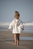 Little Girl Running on the Beach Picture
