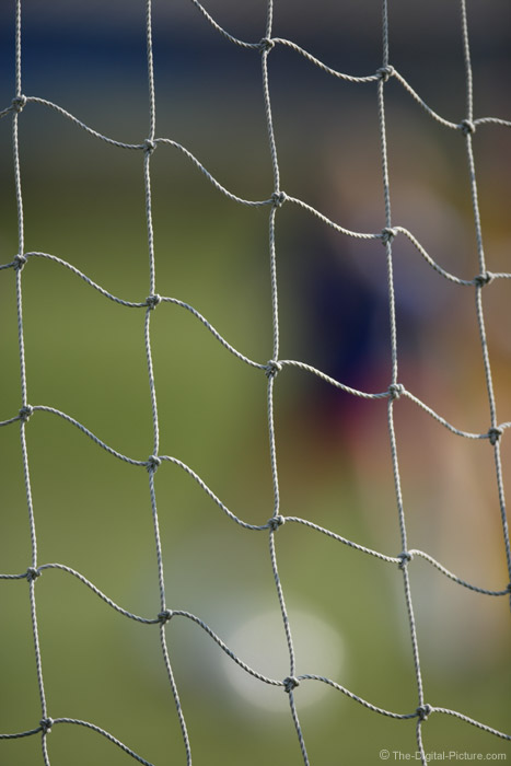 Colorful Soccer Net Picture