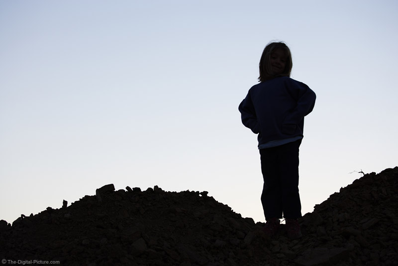 Silhouette of a Girl Picture