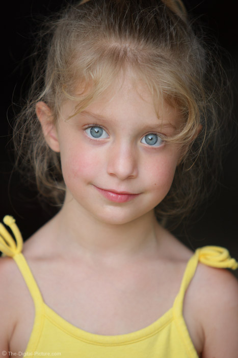 Blue-Eyed Girl Picture