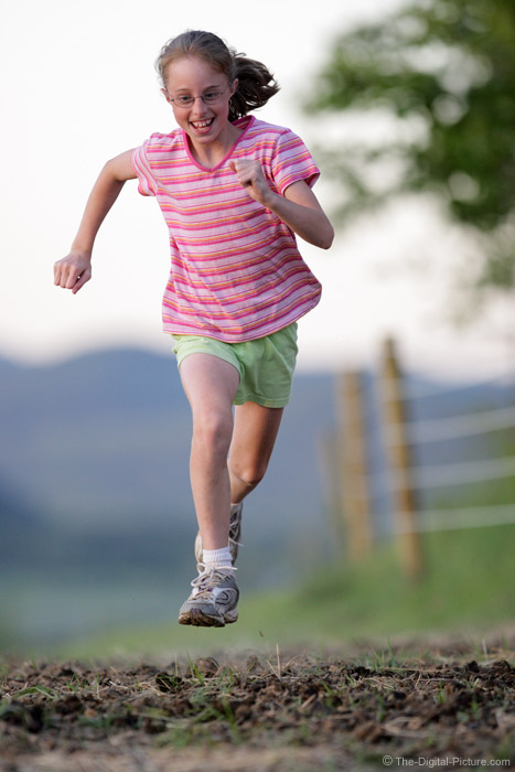 Running Girl Picture