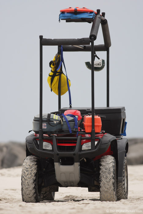 Beach Rescue 4-Wheeler Picture