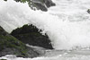 Wave Crashing Over Rock Picture
