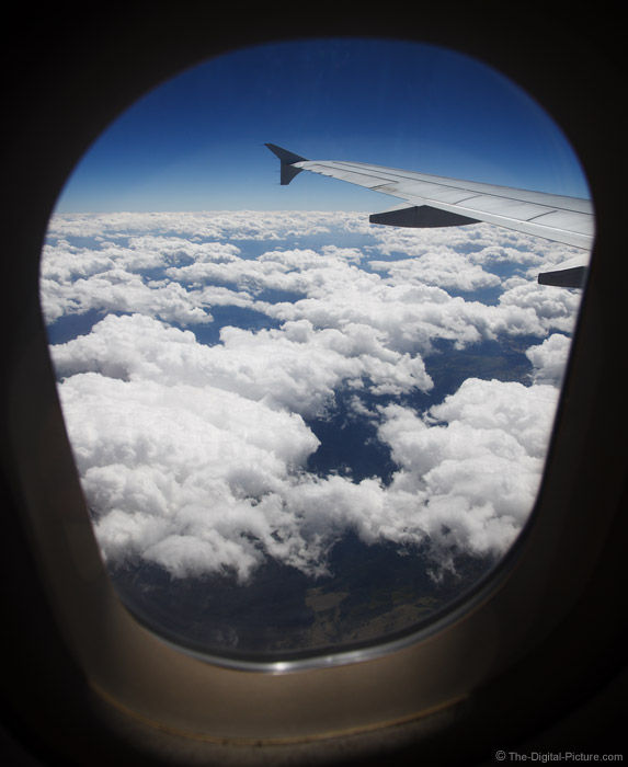 Airplane Window Picture