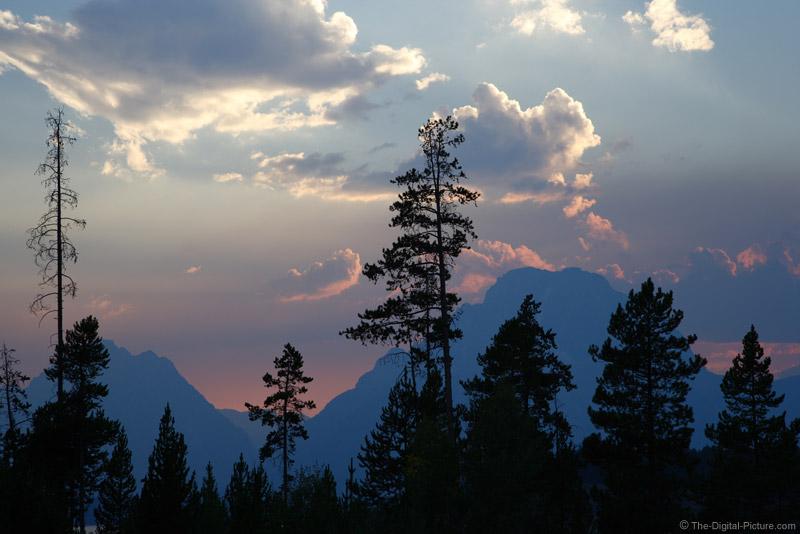 Sunset over Mount Moran, Grand Teton National Park