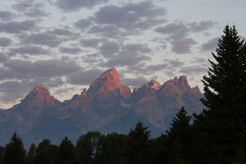 Alpine Glow on Grand Teton Mountain