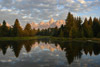 Morning at Schwabacher Landing, Grand Teton National Park