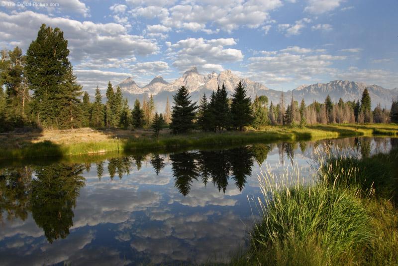 Snake River and Teton Mountain Range