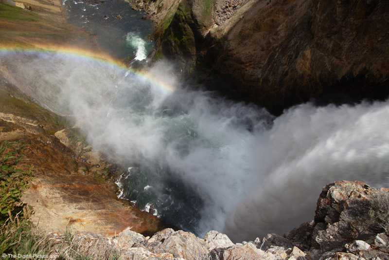 Rainbow Over Lower Falls, Yellowstone National Park