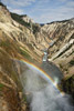 Rainbow in the Grand Canyon of Yellowstone