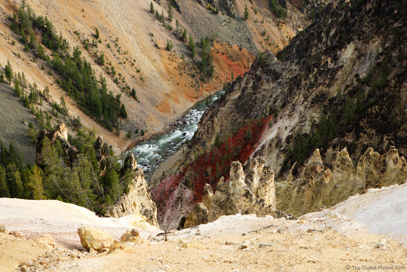 Yellowstone Canyon Picture