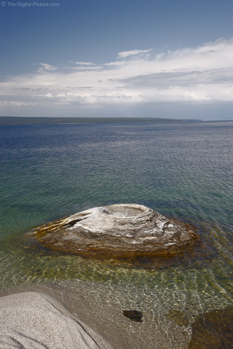 Fisherman's Cone, West Thumb Geyser Basin