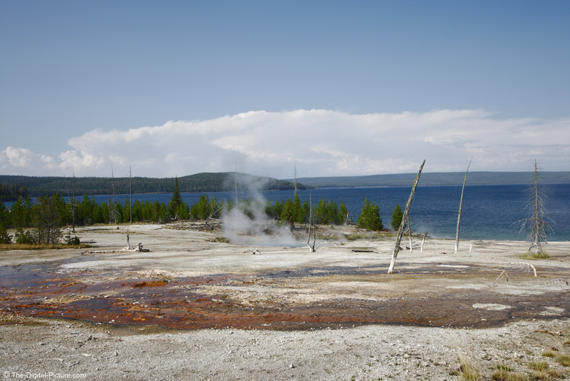 Hot Spring Run-off, West Thumb Geyser basin